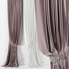 models: Curtain - Curtain with pickup Kitchen Window Curtains, Home Curtains, Velvet Curtains, Curtains With Blinds, Arched Window Coverings, Floral Bedroom, Hallway Furniture, Curtain Designs, Soft Furnishings