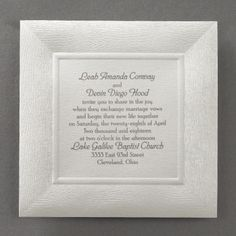 Rustic Wood - Invitation | Carlson Craft Wedding & Stationery Products