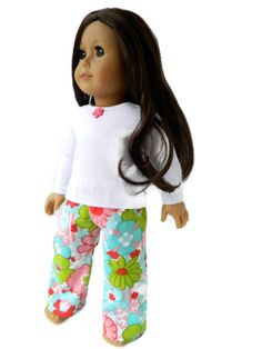 317684061 American Girl Doll Clothes - Pajamas My American Girl, American Girl  Crafts, American Doll