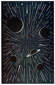 Constellations Poster by Mike Lemanski