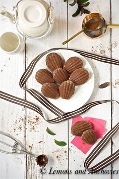 Chocolate Madeleines from @Jean | Lemons and Anchovies