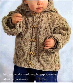 Ravelry: Deluxe Baby (Jacket) pattern by Jarol Baby Knitting Patterns, Baby Patterns, Knitted Baby Cardigan, Knit Baby Sweaters, Baby Knits, Crochet For Boys, Knitting For Kids, Rowan Knitting, Knitting Scarves