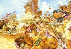 "Josh Kirby - Discworld - ""Moving Pictures"""