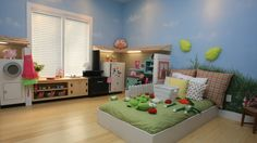 """EXTREME MAKEOVER HOME EDITION - """"Lampe Family,"""" - Playhouse Room Picture,   on """"Extreme Makeover Home Edition,"""" Sunday, January 9th (8:00-9:00 p.m.   ET/PT) on the ABC Television Network."""