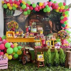 Grãos de Amor: Vamos começar a semana com a Masha e o Urso !?!?! #grãosdeamor #festa #decoração #festainfantil ...