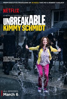The Unbreakable Kimmy Schmidt -Tina Fey strikes again! Ellie Kemper is perfect!