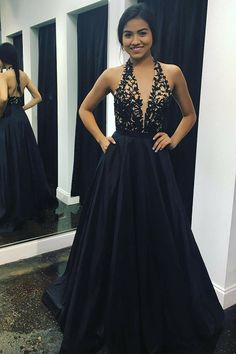 Halter Prom Dresses,lace prom dresses,backless prom dresses, Prom Ball Gown,Satin Prom Dresses from Beautiful bride Elegant Prom Dresses, Backless Prom Dresses, A Line Prom Dresses, Beautiful Prom Dresses, Prom Party Dresses, Satin Dresses, Occasion Dresses, Dress Prom, Dress Long