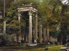 Windsor, ruins at Virginia Water, London and suburbs, England