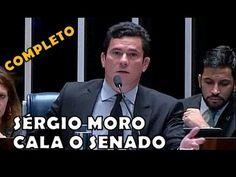 Urgente! Sérgio Moro arrasa Renan Calheiros e seu projeto criminoso dent...