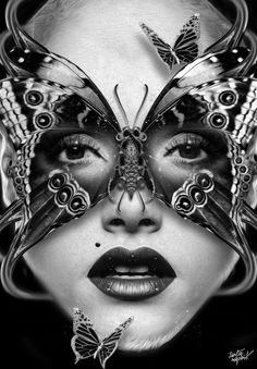 FANTASMAGORIK® BUTTERFLY MASK by obery nicolas