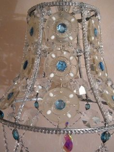 15 girly diy lamp shade designs bombay sapphire bottle and decoration beaded lamp shadery cute ideafinitely have audiocablefo
