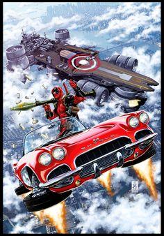 Deadpool steals Lola from Couslen  #21 cover by diablo2003.deviantart.com on @deviantART
