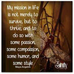 Positive life. #3inity #mayaangelou #positivity #dailyinspiration #goodvibes