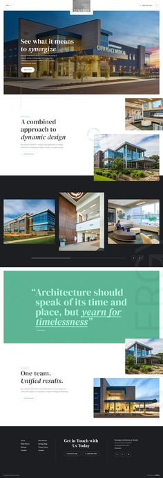 Website design for an architecture studio. #webdesign #design #ui #website #interface #ux #interaction #development #marketing #uxdesign #uidesign #landingpage #behance #dribbble #art #architecture #architect #building #developer Dynamic Design, Web Design Inspiration, Studio, Marketing, Architecture Design, Places, Behance, Art, Art Background