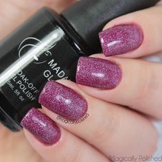Magically Polished  Nail Art Blog : @madam_glam So Delicious