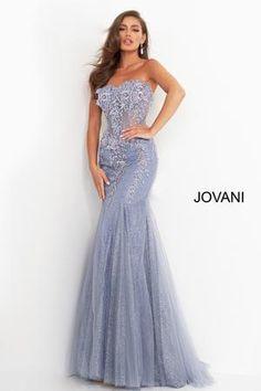 Jovani 62523 Size 4 Long sheer Corset Mermaid Prom Dress Sheer cap sle – Glass Slipper Formals Sheer Dress, Dress Lace, Flower Girl Dresses, Borax Cleaning, Fitted Skirt, Glass Slipper, Communion, Pageant