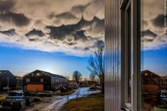 Mammtus clouds in Trondheim by Aziz Nasuti on 500px