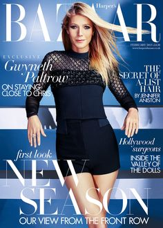 Harper's Bazaar UK February 2015