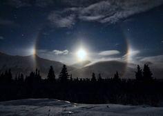 ALLPE Medio Ambiente Blog Medioambiente.org : Paraselene, el halo luminoso de la luna