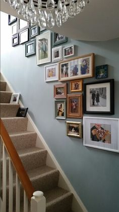 Display Family Photos, Hallway Ideas, Photo Displays, Picture Wall, Gallery Wall, Lounge, Memories, Interior, Projects