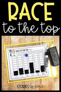 Race to the Top is a dice game that students can play independently. This would be a great activity for students to complete during math workshop while the teacher meets with a small group. This dice games pack includes other games, too!