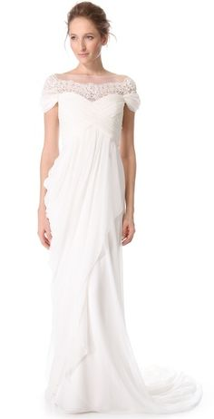 Marchesa Grecian Illusion Gown on shopstyle.com