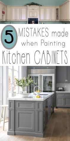 I've had a few inquiries from followers of my site asking for tips on painting kitchen cabinets. Here are some... Read more »