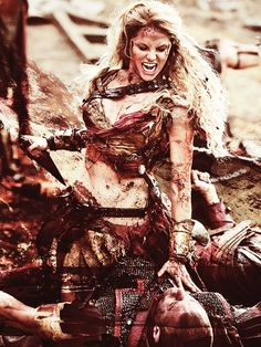 """""""Warriors are not beautiful. They are covered in blood. Their hands have spoken death. Do not call me a princess. I am a goddamn queen.""""-----yasssss!                                                                                                                                                                                 More"""