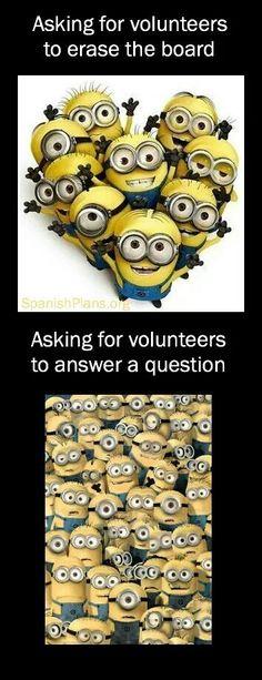 Bahahaha! A teacher's world...                                                                                                                                                                                 More