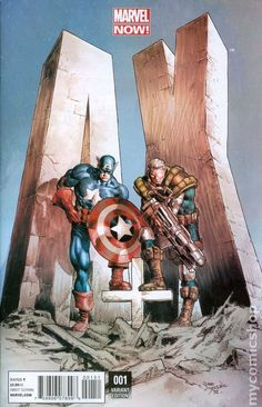 #A+X #1 Cover E 1 of 20 Variant Cover #Marvel (Cover By Mike Deodato)