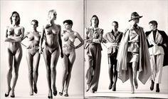 """Helmut Newton El fotógrafo alemán-australiano Helmut Newton (1920-2004) ha sido, en nuestro juicio, uno de los referentes fundamentales del erotismo en el arte del s.XX . Newton era un """"fotógrafo prolífico, ampliamente imitado cuyas imágenes provocativas, cargadas de erotismo, eran uno de los pilares de la revista Vogue y otras grandes publicaciones."""