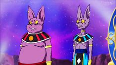 Lord Beerus and Lord Champa