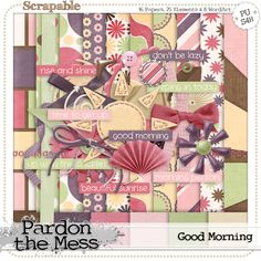 Collect this FREE digital scrapbooking kit this month (new part every Tuesday in July) at the Scrapable blog.