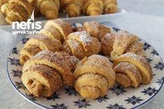 Cevizli Tarçınlı Rulo kurabiye Tarifi