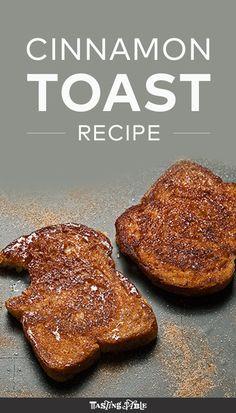 Best Cinnamon Toast Recipe
