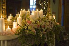 Lamberts Lately: Show Us Your Life - Wedding Party and Flowers Wedding Mantle, Wedding Fireplace, Floral Wedding, Wedding Flowers, 50th Wedding Anniversary, French Wedding, Bridezilla, Wedding Decorations, Wedding Ideas