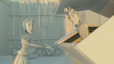 A Beautifully Made Animation About Two Paper People In A Love Story - DesignTAXI.com