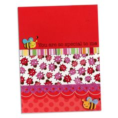 Doodlebug Spring Bug Card By Archivers Ladybug Garden Designs Robin Birthday Cards
