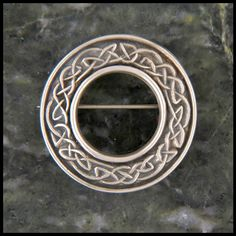Mary's Brooch in Sterling Silver