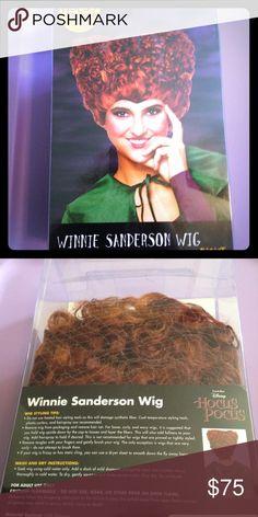Hocus Pocus Winnie Sanderson costume wig This wig is in New condition. Still in the box. spirit halloween Other