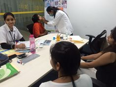 Unit of Indus Healthcare organised Free Dental Check-up at Spice Digital, Mohali on 20th  May'2016..