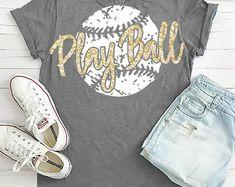 Baseball T Shirt Designs Softball Shirts, Softball Mom, Sports Shirts, Softball Cheers, Softball Crafts, Softball Pitching, Fastpitch Softball, Basketball Skills, Softball Decorations
