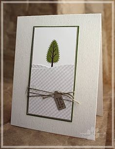 Trendy Trees and Tiny Tags Thank You card