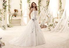 Fashion bride 2015 - Collection COLET. ENYA COAB15314IVLB. Wedding Dress Nicole.
