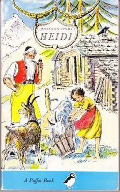 Heidi (Puffin Story Books) By Johanna Spyri,Cecil Leslie,Eileen Hall