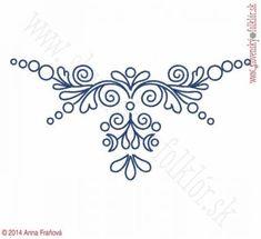 Výšivka Záhorie, 24 x 12 cm Scandinavian Folk Art, Cricut, Embroidery, Tattoos, Creative, Fruit, Patterns, Needlepoint, Blue Prints