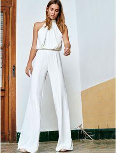 Alexis Clothing | Sang Jumpsuit White  www.shopsplash.com