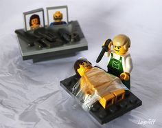 Dexter by legojeff, via Flickr. Horrible and hilarious at the same time.