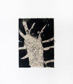 Branches Out, #monoprint by ECF Art Centers #artists Karen Blunt, Juanita Scott #collabo http://amzn.to/1mVmRdr