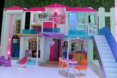 Barbie Hello Dream House: The updated smart mansion uses voice commands to do daily tasks like preheat the oven and operate the elevator. Plus, it syncs her appliances and other gadgets with WiFi. But the best part: using voice commands, kids can enable 'party mode,' making chandeliers spin, music bump and lights flash.